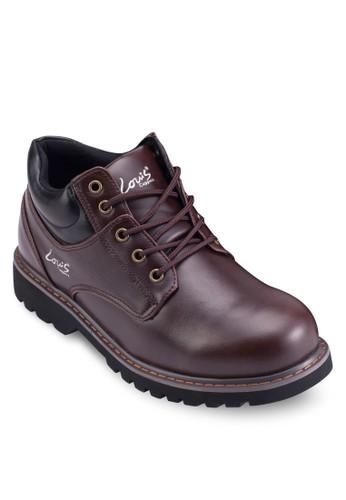 撞色繫帶踝靴, 鞋,esprit outlet尖沙咀 靴子