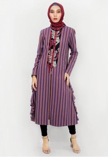 INA PRIYONO purple and multi TUNIK KALILA Purple by Ina Priyono 0AA92AA53C4C6DGS_1