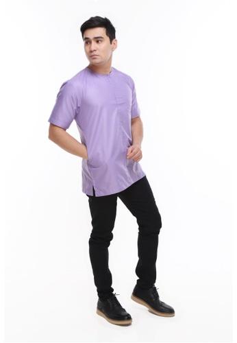 Amar Amran purple Kurta Al Imran 9C233AAC08A05AGS_1