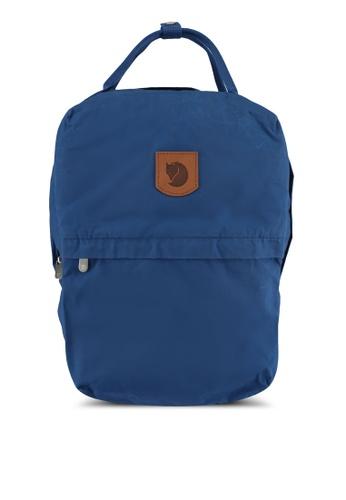 Fjallraven Kanken blue Greenland Zip Large Backpack FJ382AC0SX8RMY_1