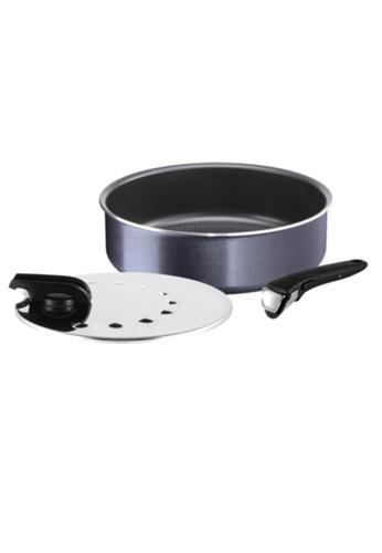 TEFAL Tefal Ingenio Elegance 3pcs set (Sautepan 26cm+Glass Lid+Removable Handle) L23191 3C25FHL4052511GS_1