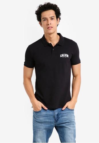 Calvin Klein black Polis Slim Polo Shirt - Calvin Klein Jeans 575BAAA8E1A045GS_1
