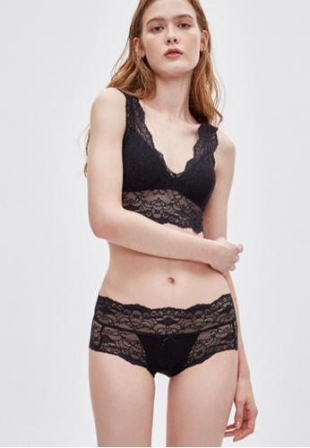 Celessa Soft Clothing Pure - Mid Rise Floral Lacie Brief Panty 86471US35378E0GS_1