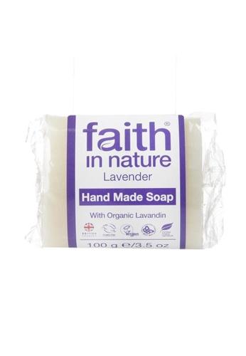 Holland & Barrett Faith in Nature Lavender Soap 100g 21AF4ES1D8AE97GS_1