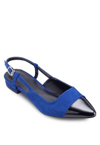 Wendy 踝帶尖esprit台灣官網頭平底鞋, 女鞋, 懶人鞋