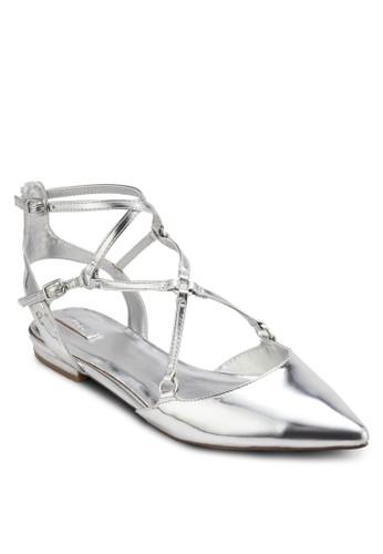 Eddiva 多帶尖頭平底鞋, 女鞋, esprit outlet 桃園鞋