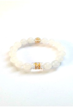 Feng Shui Jade with Protection Mantra Bracelet