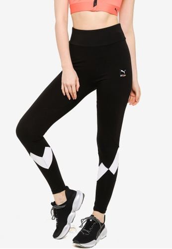 Puma black PUMA International Leggings 75A70AABBC13ACGS_1