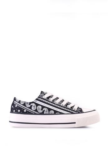 Rubi black Billie Retro Low Rise Sneakers B9B89SH18A5F11GS_1