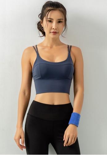 HAPPY FRIDAYS Women's Medium Support Sports Bra DK-WX13 882B3AA7944764GS_1