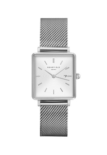 Rosefield silver Rosefield The Boxy White Sunray Mesh Silver QWSS-Q02 8CAB5ACED969BFGS_1