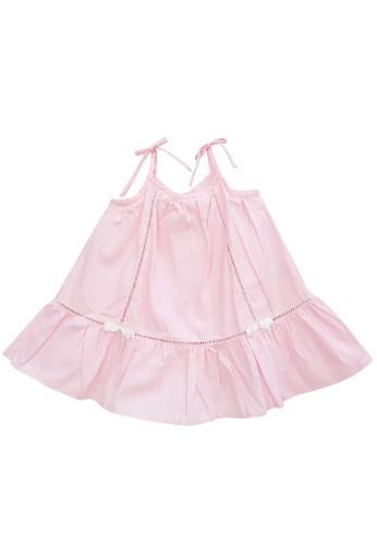 FIYORA pink Luciana Cotton Girl Dress 6BCF8KAFBD6A98GS_1