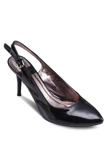 Elisabeth 尖頭esprit outlet 香港繞踝高跟鞋, 女鞋, 鞋