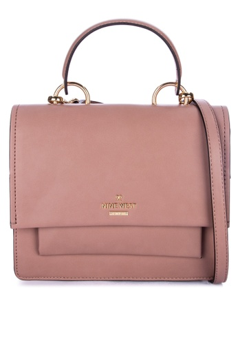 Nine West Vayle Top Handle Flap Bag