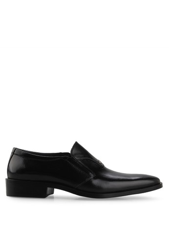 Andretelli black Men Massimo Business Shoes AN907SH59COYID_1