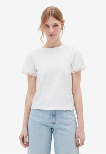 OVS white Basic T-Shirt 443BCAAB7C2B6CGS_1