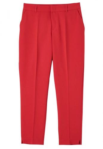 Terranova red Long Pants C45B1AA5323BBAGS_1