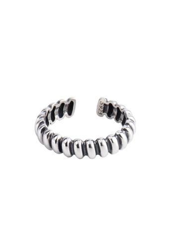 A-Excellence silver Premium S925 Sliver Drop Ring 8B8DFAC987E001GS_1