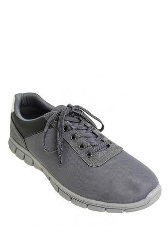 BENCH grey Mesh Trainers   BE550SH0JXPTPH_1