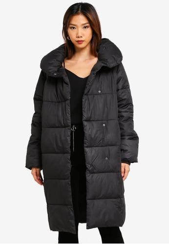 cafcc352a Padded Shawl Collar Jacket