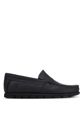 Timberland black Tidelands Asia Fit Slip-Ons TI063SH0RP7HMY_1