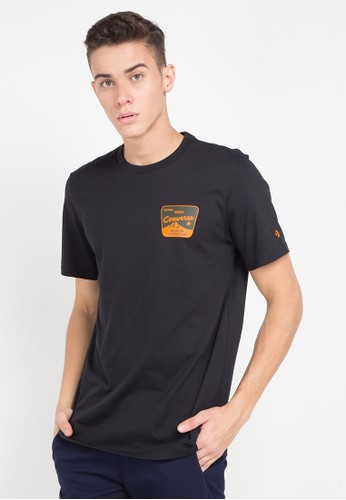 Converse black and multi Moutain Rec T-Shirt 187E1AA86A0ED6GS_1