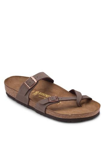 Mesprit outlet 台灣ayari 拇指套扣環帶平底拖鞋, 鞋, 涼鞋及拖鞋