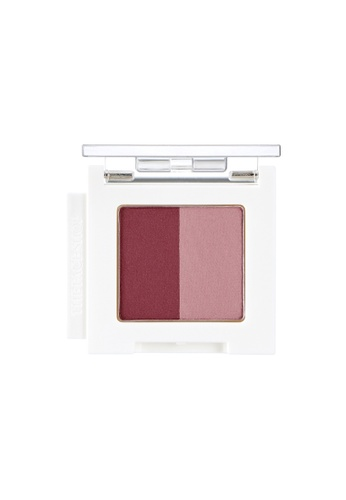 THE FACE SHOP Mono Cube Eyeshadow (Dual) PK01 Wine House B223DBEFD5646DGS_1