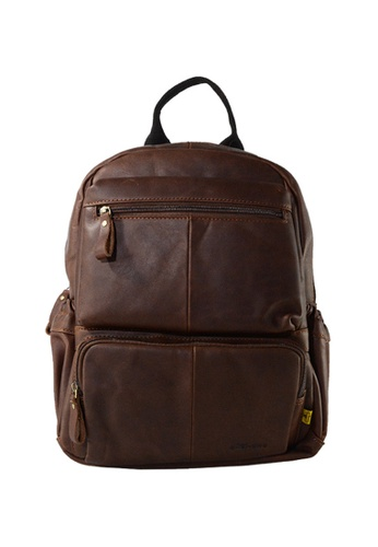 EXTREME brown Extreme Genuine Leather Vintage Backpack Multi Compartment Chocolate Brown 13inch Laptop 3A6ABAC466CA6CGS_1