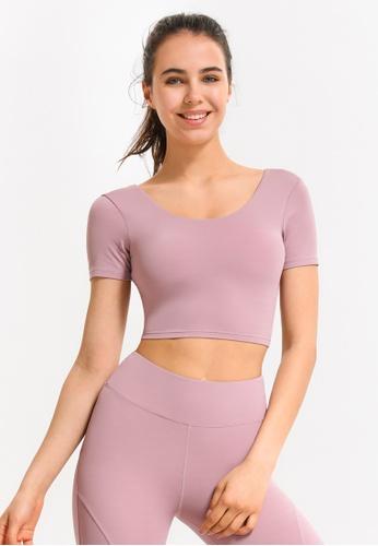 HAPPY FRIDAYS Women's Yoga Short Sleeve Tees DSG17 395A2AAE9ABEE2GS_1