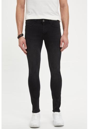 DeFacto black Man Denim Trouser 93397AAED948B2GS_1