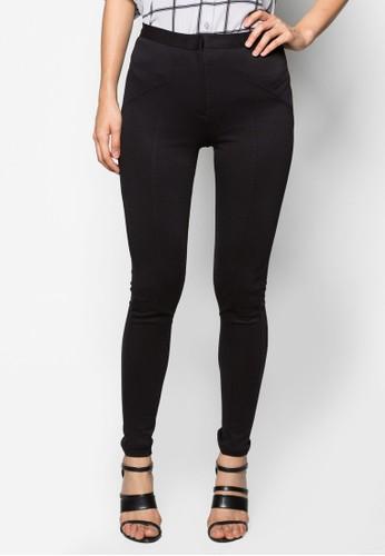 Black Twill Treggzalora taiwan 時尚購物網鞋子ings, 服飾, 內搭褲
