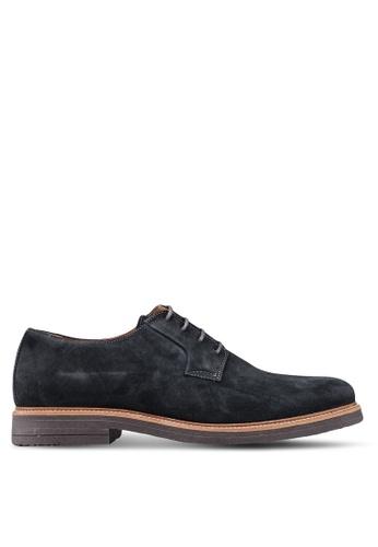 MANGO Man grey Suede Blucher Shoes D2093SH2A3617DGS_1