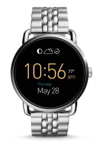 Fossil silver Fossil Q Wander Touchscreen Stainless Steel Smartwatch FTW2111 FO164AC37SZEMY_1