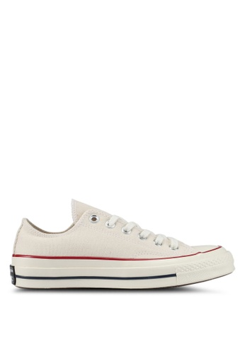 d3d00bad2a2 Converse white Chuck Taylor All Star 70 Core Ox Sneakers CO302SH0SXTXMY 1