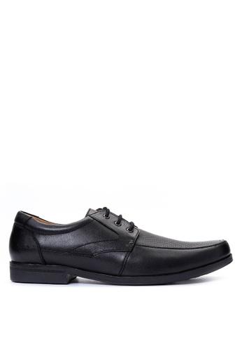 Gibi black Men's Dress Shoes GI342SH21UWOPH_1