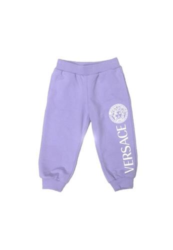 Versace purple VERSACE BABY GIRLS LONG PANTS EA136KA2DC91E8GS_1