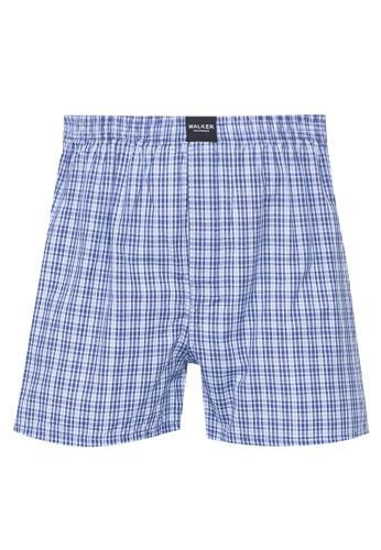 Walker Underwear blue Checkered Shorts 46F24USF6A9BEBGS_1