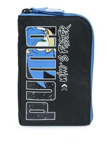 Puma black Sega Portable Bag 6121DKCF838BA9GS_1