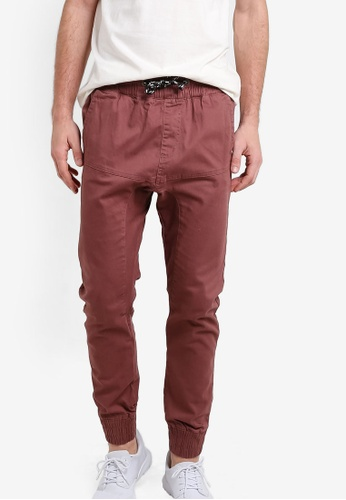 Factorie red The Jett Pants FA880AA86XRDMY_1