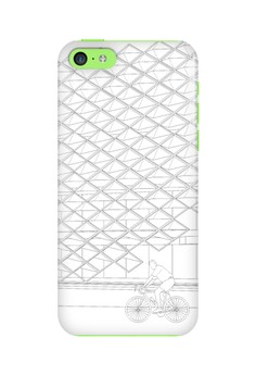 Brise Soleil Up Glossy Hard Case for iPhone 5c