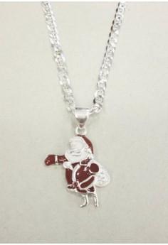Kids Necklace, Santa Clause Design