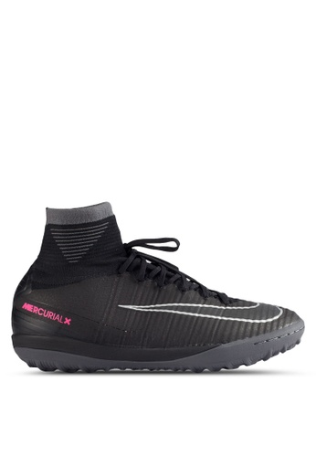 Nike black and grey Men's Nike MercurialX Proximo II (TF) Turf Football Boots NI126SH54MSJMY_1