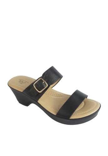 BANDOLINO black Faye Sandals AEEF9SHD99AFCCGS_1
