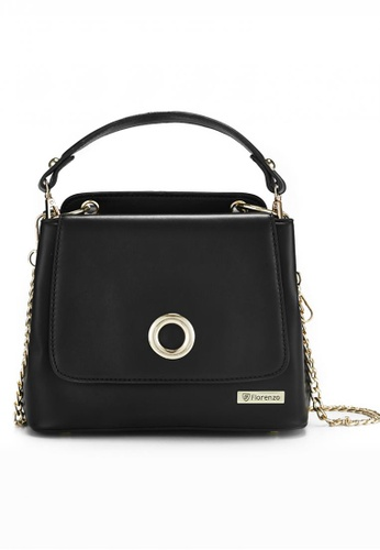 florenzo black Florenzo Flag Bag with Chain FL898AC0RTCYMY_1
