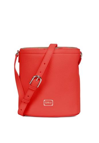 Furla red Drawstring Bucket Bag C363FAC0AEE22EGS_1