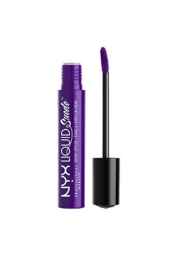 NYX Professional Makeup purple NYX Professional Makeup Liquid Suede Cream Lipstick - AMETHYST 2B415BE31E4E10GS_1