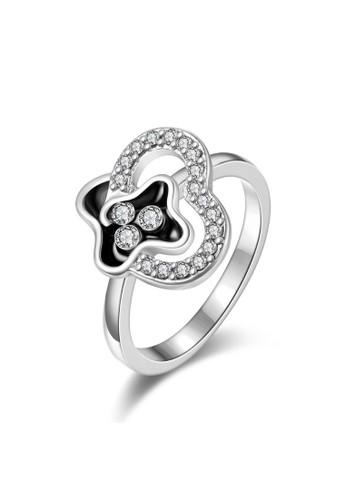 Tiaria white Tiaria Gold Plated Ring Casual Fashion KRGPR714-C-7--K16 3542EACBD37049GS_1