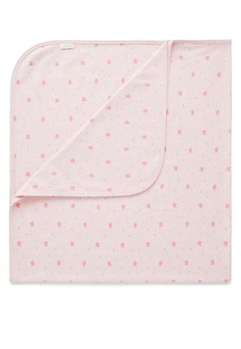 Purebaby pink Bunny Rug 858BDKCE4B5BFFGS_1