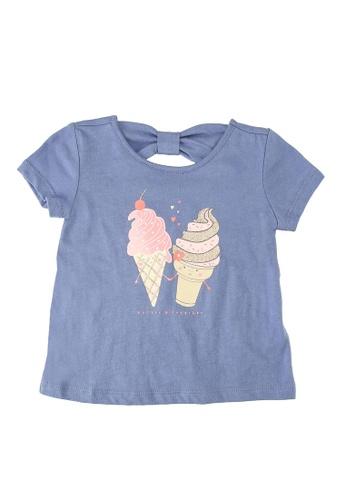 GAP blue Bow Graphic T-Shirt 4C4E0KA149C0B3GS_1